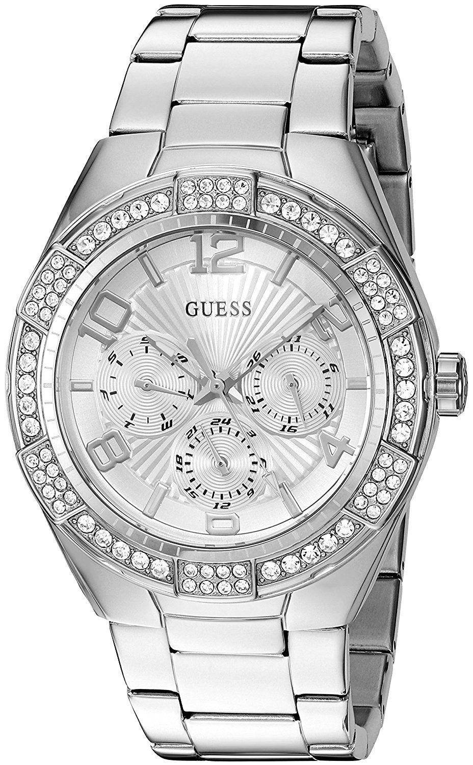 GUESS Women's Quartz Stainless Steel Automatic Watch