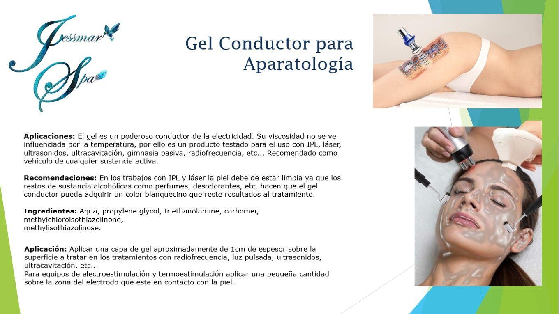 Gel Conductor Para Aparatologia Gimnasia Pasiva Ultrasonido Radiofrecuencia