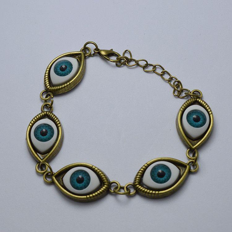 Fashion Angel Devil's Eyes Chain Bracelet