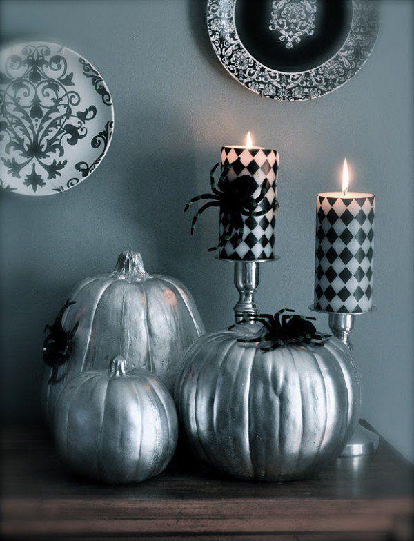Citrouille Halloween décorative - 22 idées avec de la peinture   Halloween pumpkins, Halloween ...