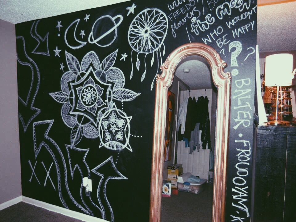 Chalkboard Wall Bedroom Wall Paint Chalkboard Wall Chalk Wall