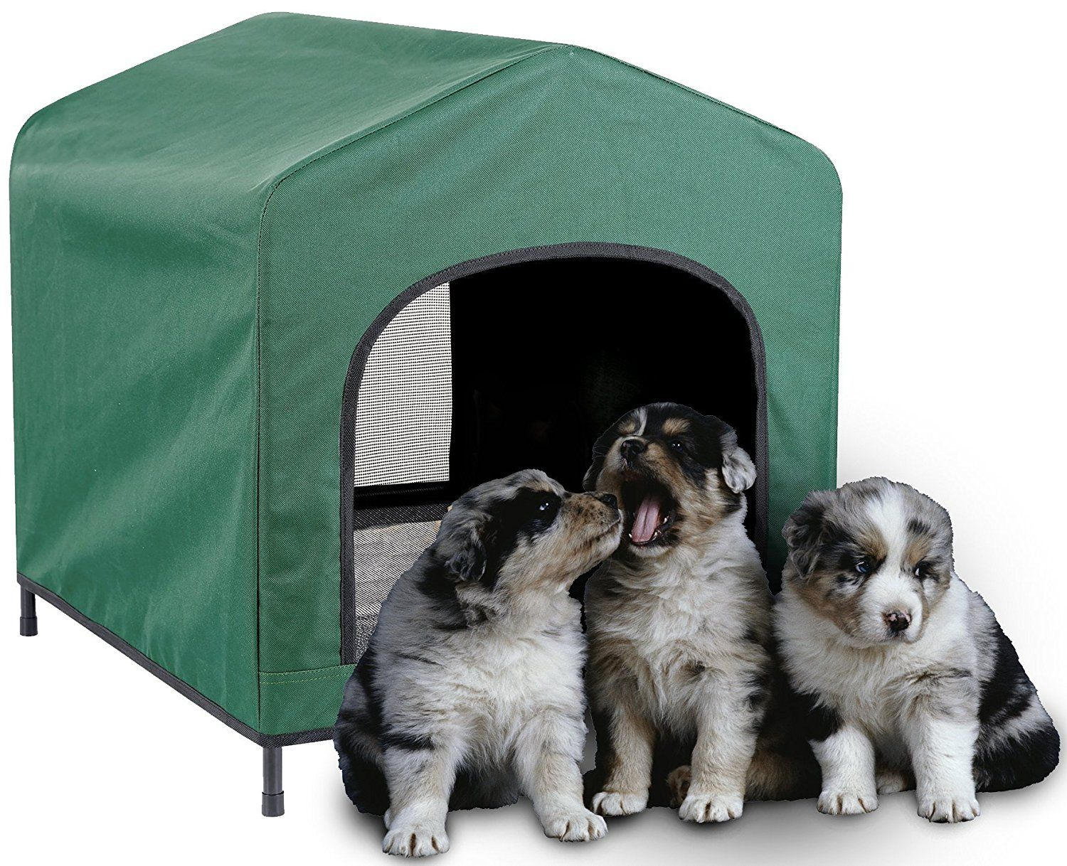 Etna Waterproof Pet Retreat Portable Dog House Learn More By