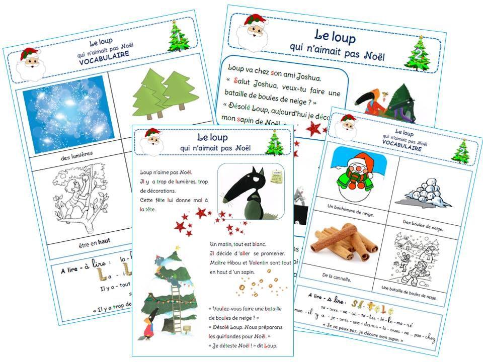 Le Loup Qui N Aimait Pas Noel Noel Maternelle Lecture En