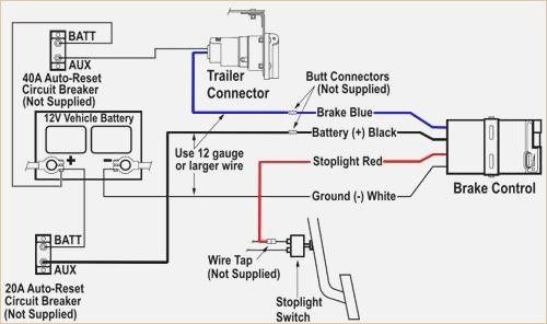 Brake Controller Wiring Diagram in 2019 | Trailer wiring ...