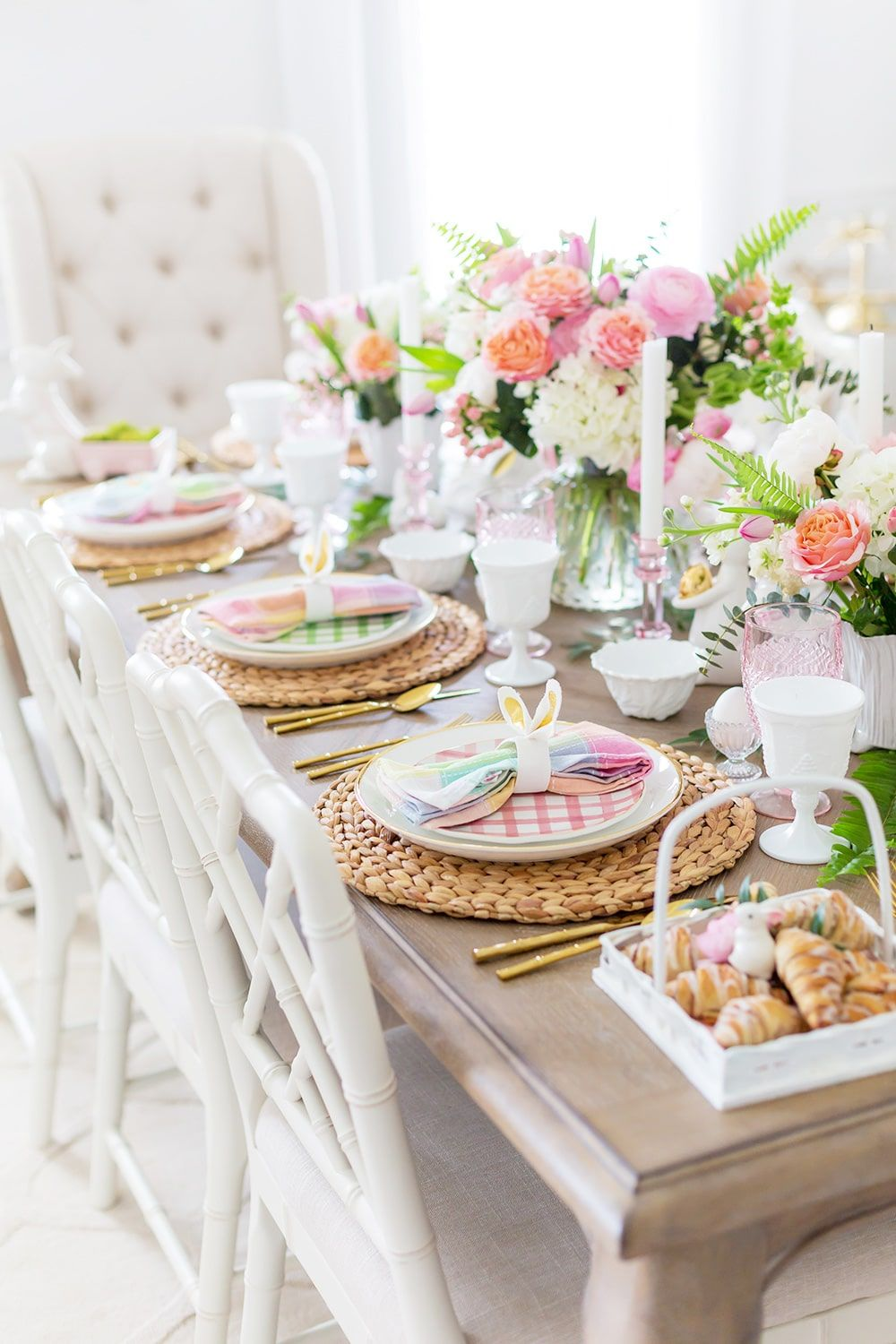 Easter Table Decor Ideas   Place Settings to Centerpieces   Pizzazzerie
