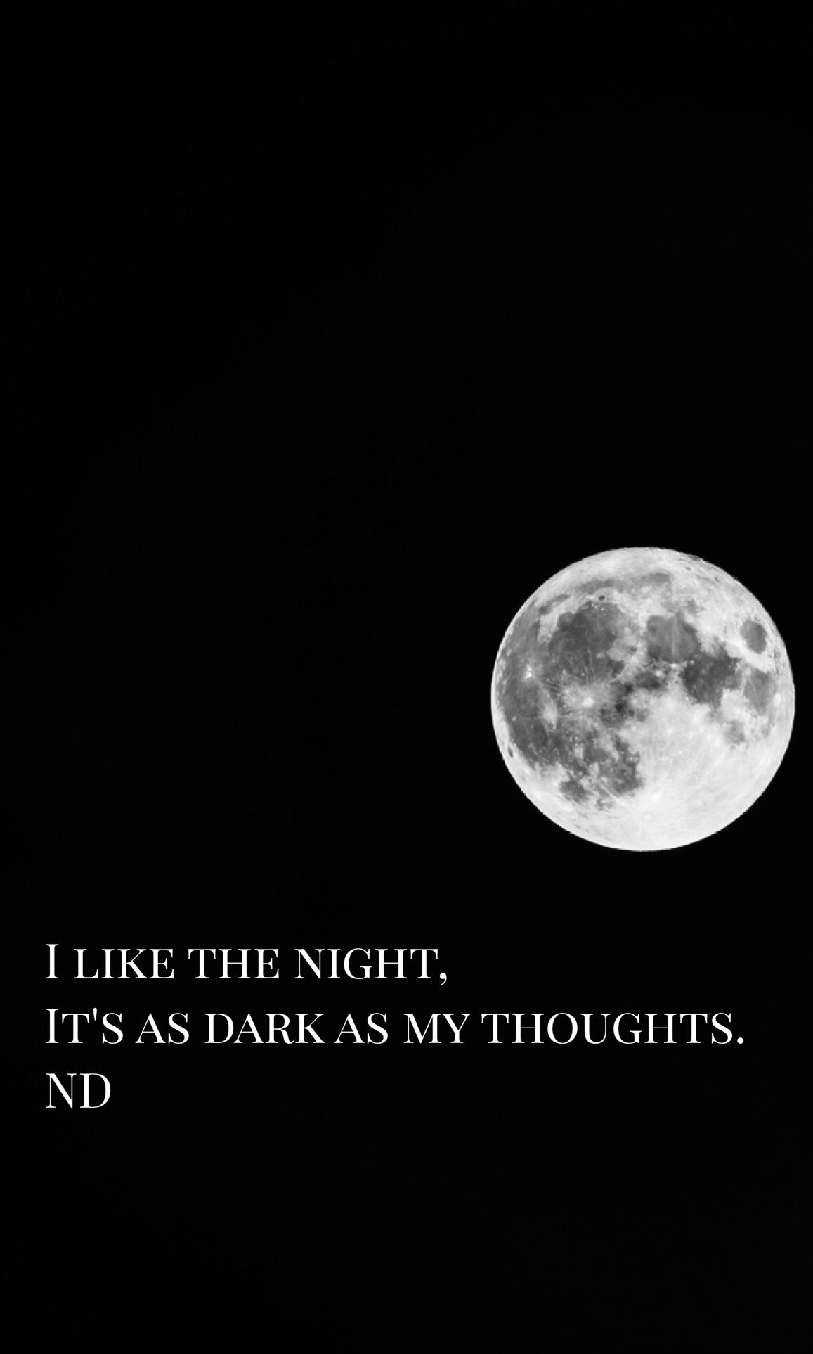 Dark Emo Suicide Quotes: I Like The Night, It's As Dark As My Thoughts...