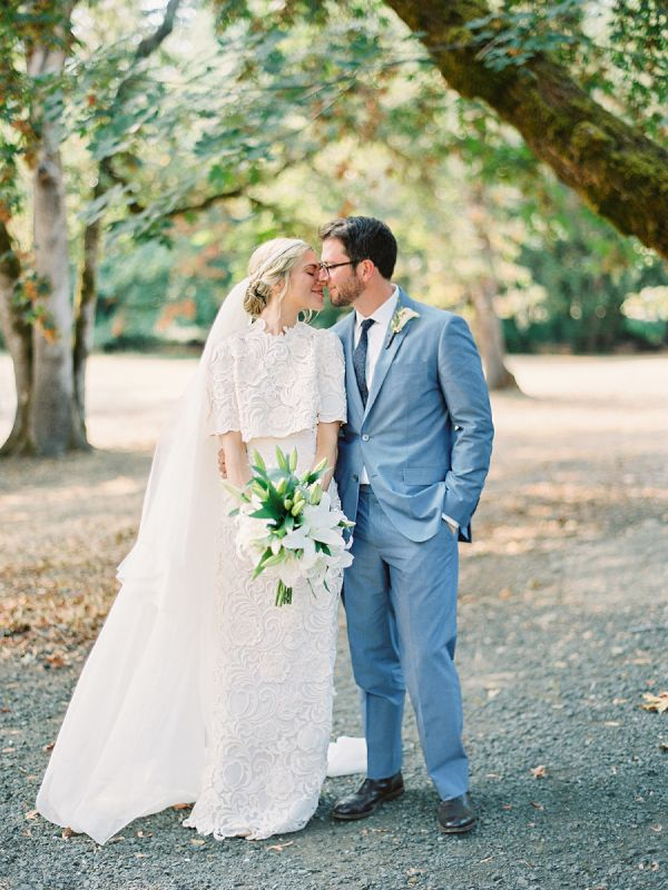 This Bride Works for Prada, and Her Custom-Designed Dress is ...
