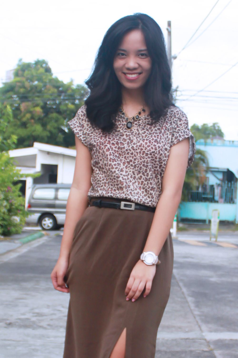 Leopard print to #work. A fun twist to your office attire! via Style Surgery (http://spellmegann.blogspot.com)