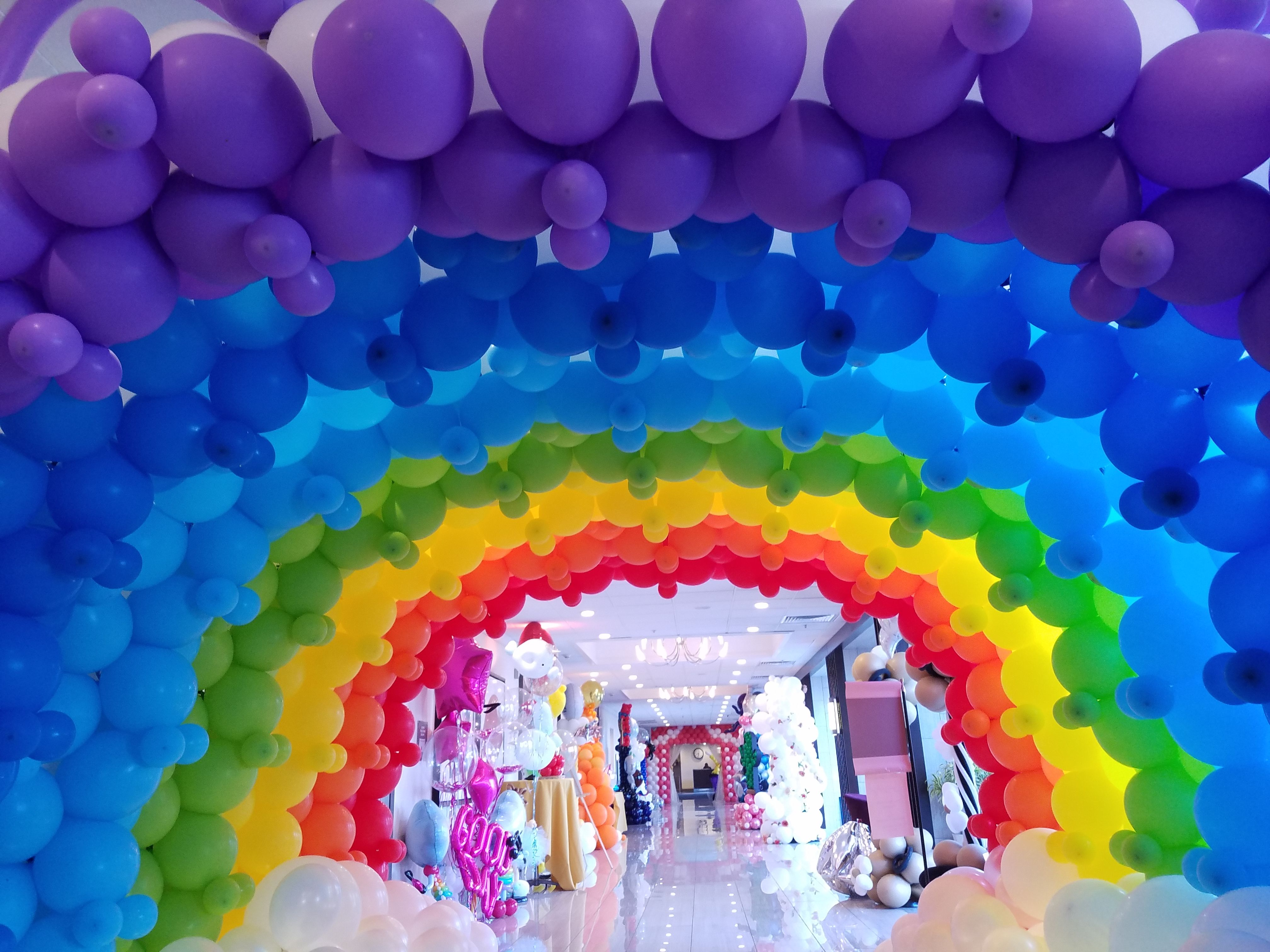 how to make a balloon arch at home