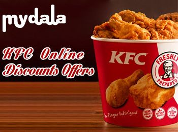 Are you getting bore with daily food and want to try some different then nothing is better than KFC. KFC is one of the fast food destinations where you will get delicious food. KFC provides you KFC Deals in all restaurants of Delhi. It's very easy and simple to take KFC deals. Mydala provides you KFC deals for restaurants in Delhi.