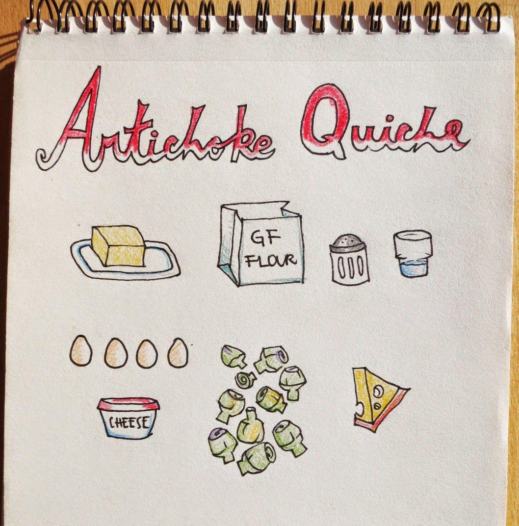 Easy and Happy Food: Artichoke Quiche, Tarta de alcauciles.