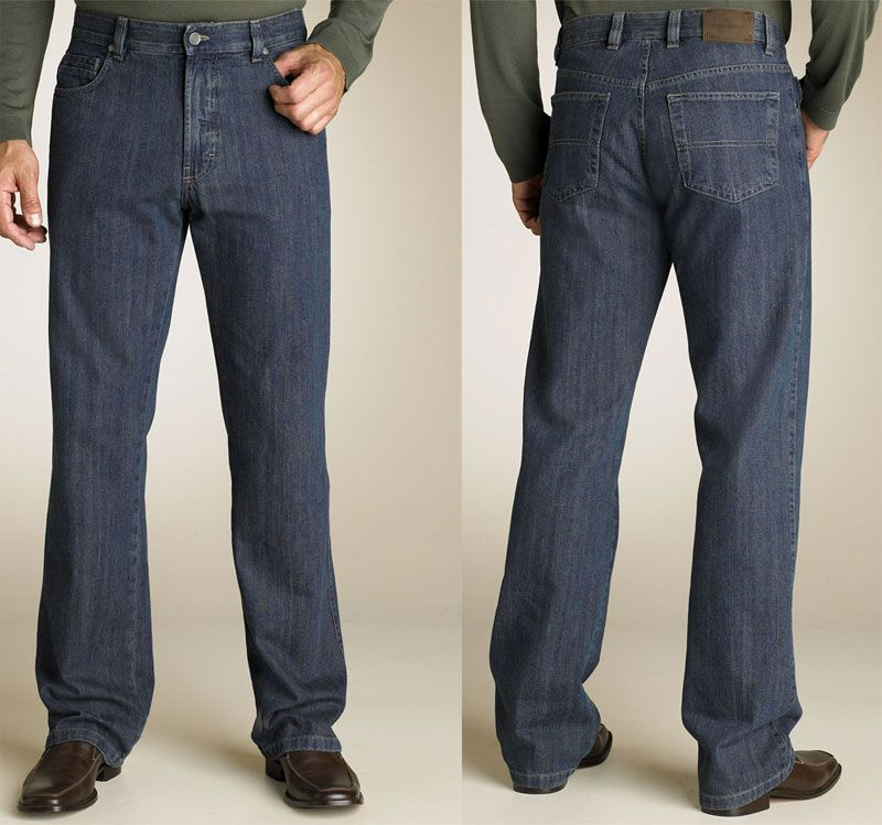 Jeans for mature men