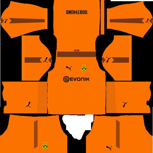 Borussia Dortmund 2019 2020 Kits Dream League Soccer Soccer Kits Dortmund Borussia Dortmund