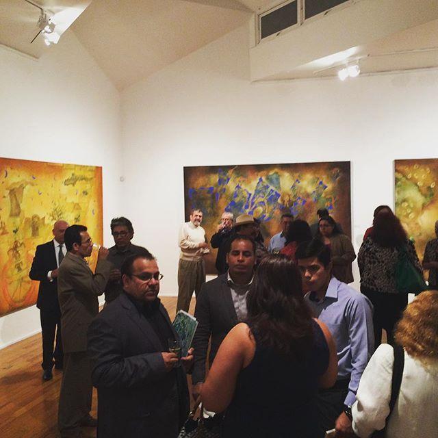 Inauguración de #SeresImaginarios de #JavierCruz  #galeriacasalamm #art #mexicanart #