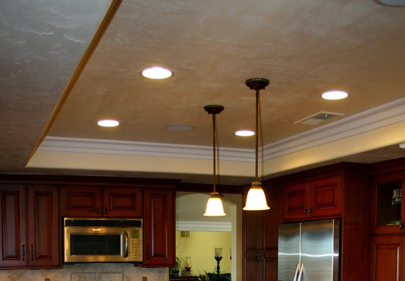 Replace Ceiling Light With Downlight