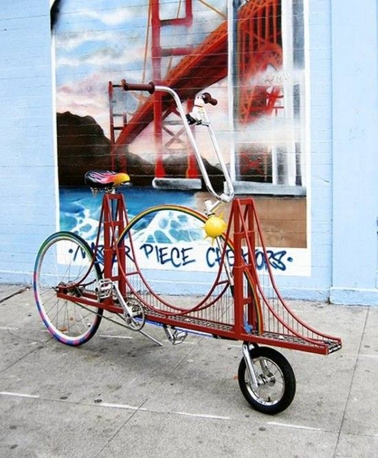 Golden Gate Bike In Celebration Of