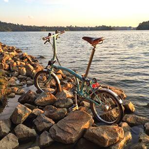 Ride@Sentosa Cove, Singapore www.RideOrWrongShop #brompton #bicycle #rideorwrongshop