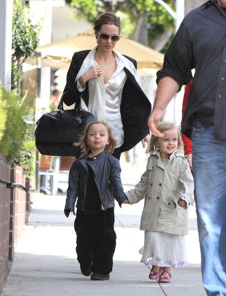 Angelina Jolie And Knox Jolie Pitt Photos Photos Angelina Jolie