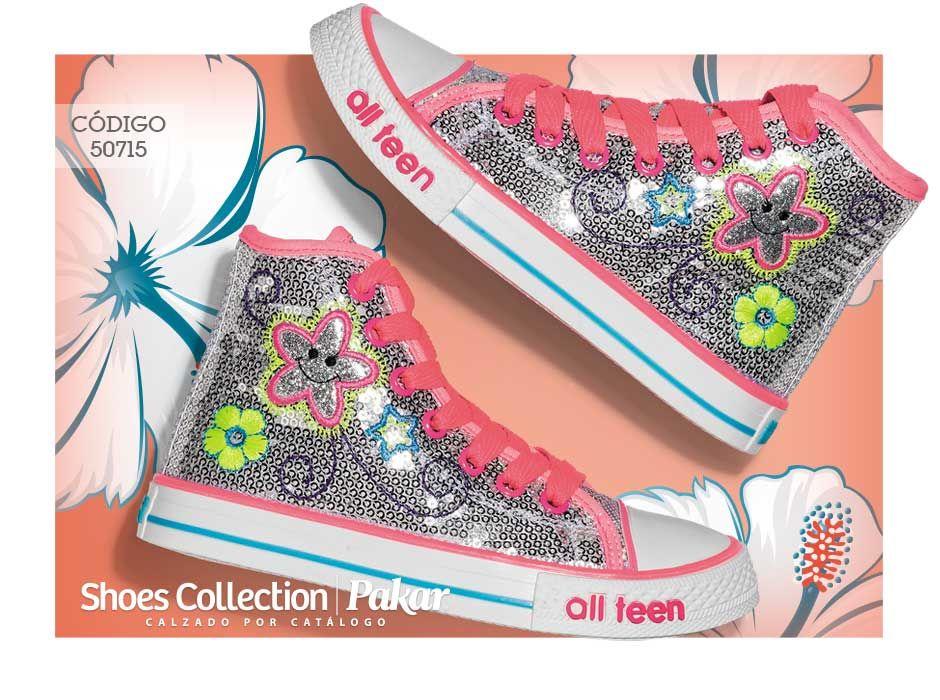 Zapatos para niñas Calzado Shoes Collection Pakar Tenis ...