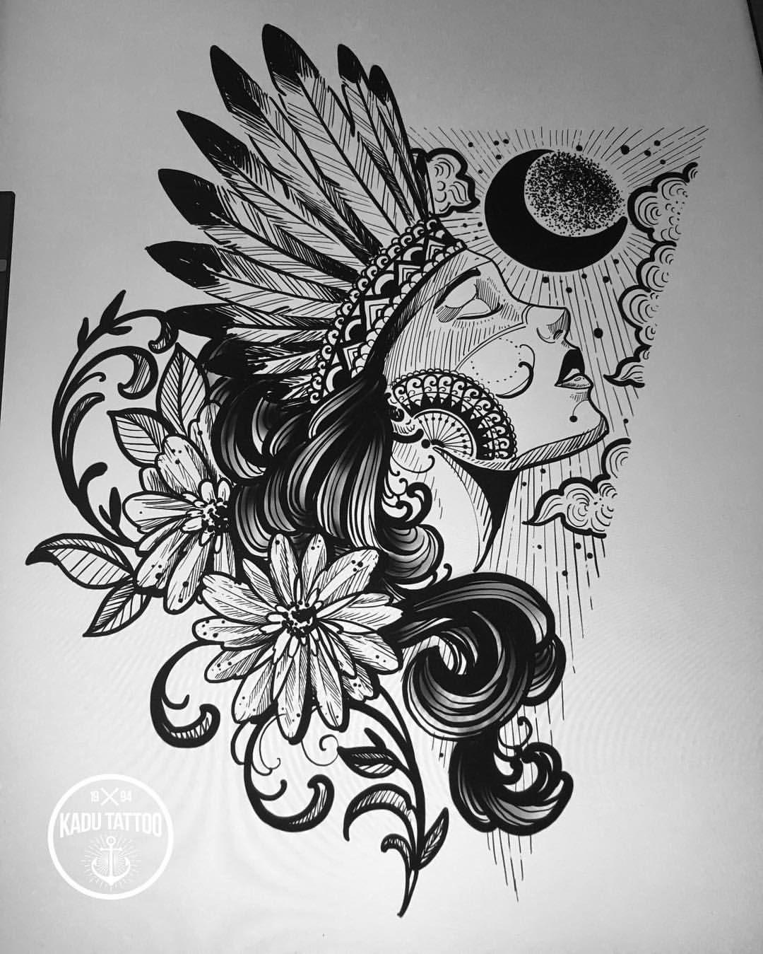 Background Space Desenho Tatuagem Tatuagem Arte Flash E