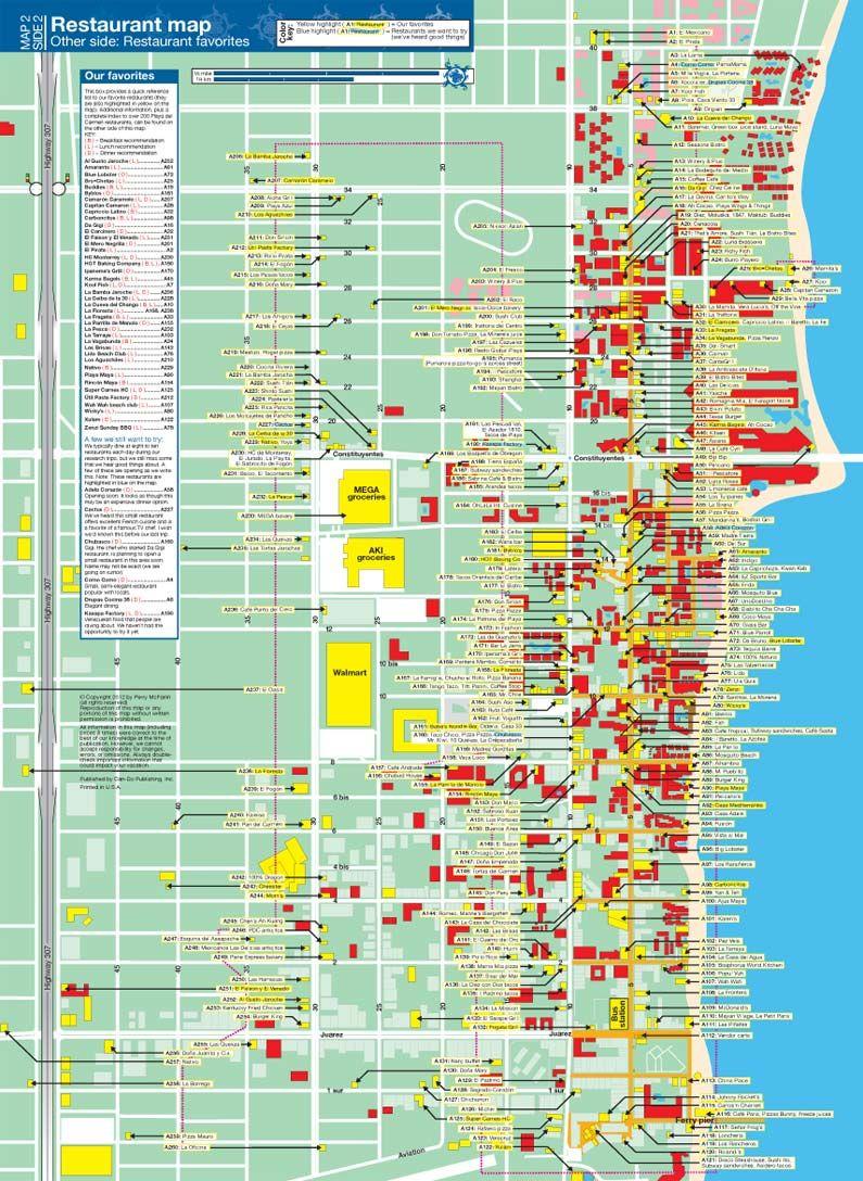 Mapchick Playa Del Carmen Map And Travel Guide