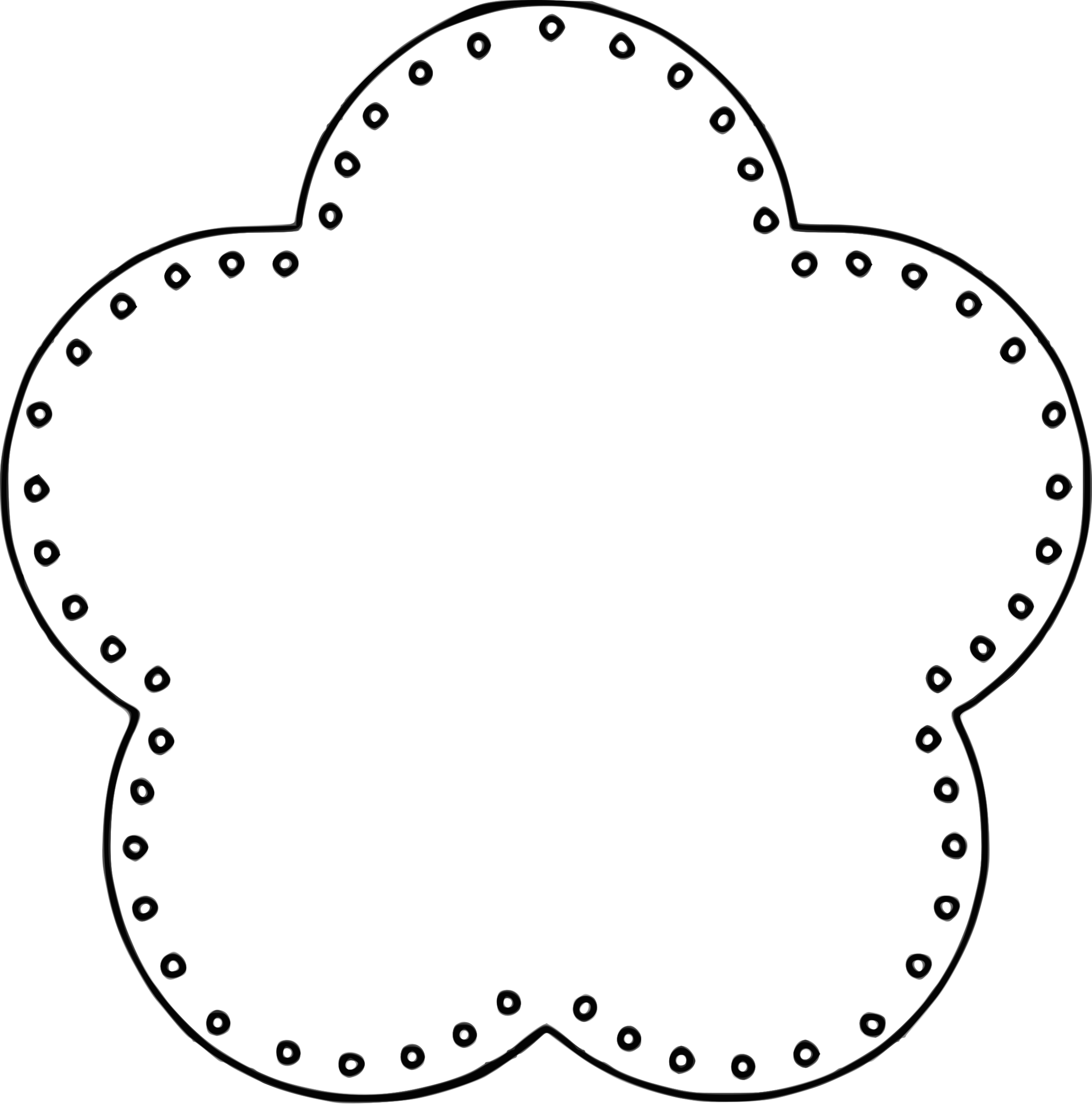 Scallop Circle Template Png Clipart Free To Use Clip Art Resource Clipart Best Clipart Best Circle Template Free Clip Art Simple Scrapbook