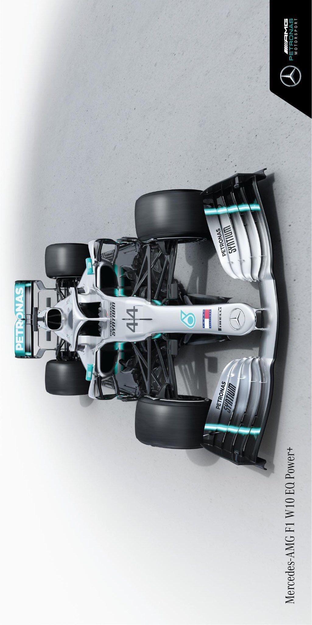 Mercedes AMG F1 W10 EQ Power+ Wallpaper