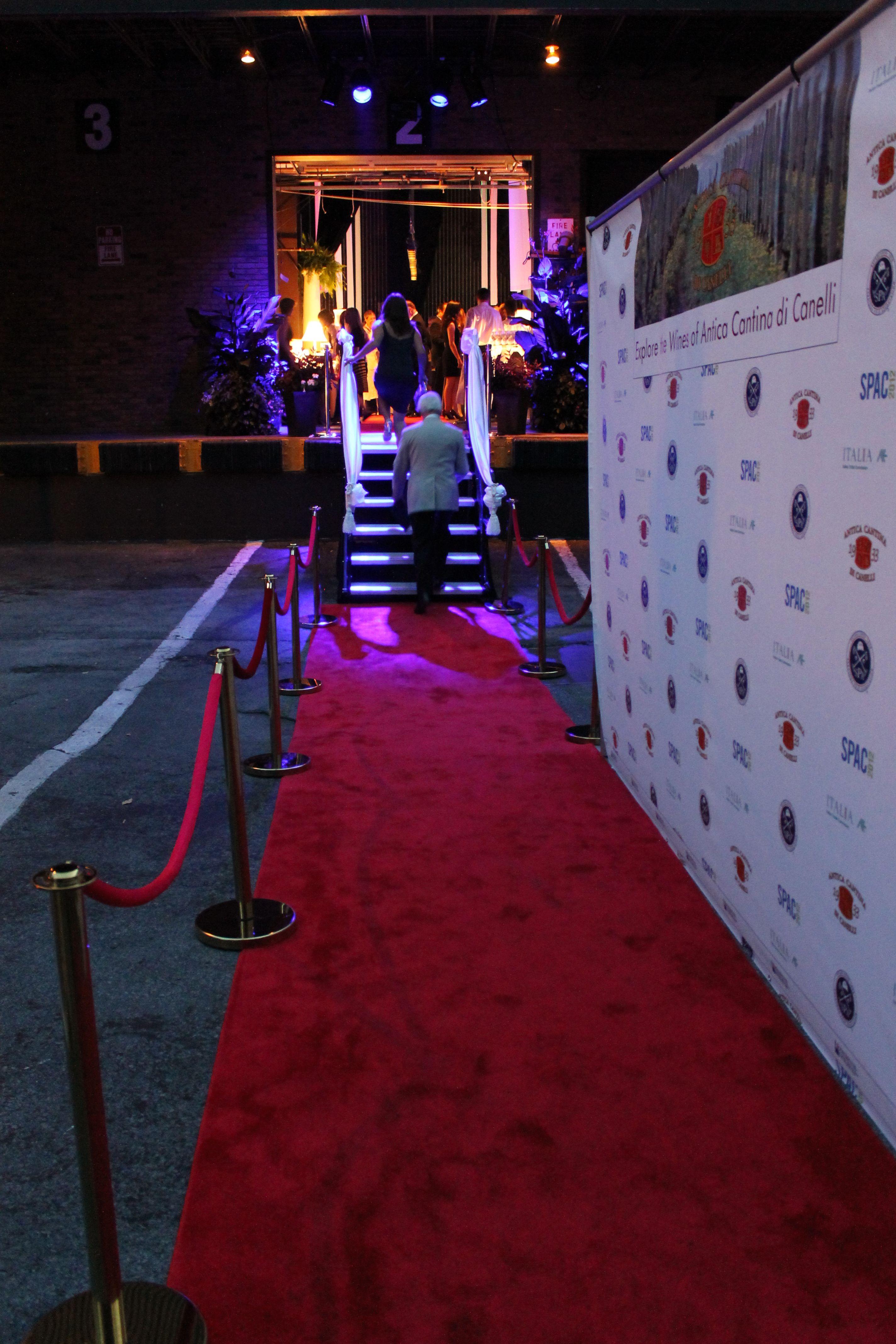 Food Wine And Ferrari Festival Red Carpet Gala Entrance Wine Recipes Casino Theme Parties Casino Night Party