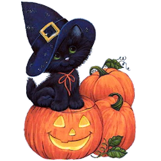 Image result for black cat pumpkin clipart clipart