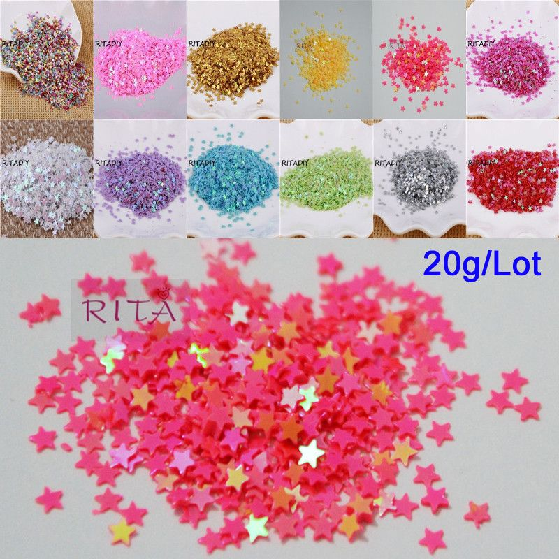 4mm Flat SEQUIN PAILLETTES Loose ~ Clear Crystal Shiny Luster ~ Made in USA.