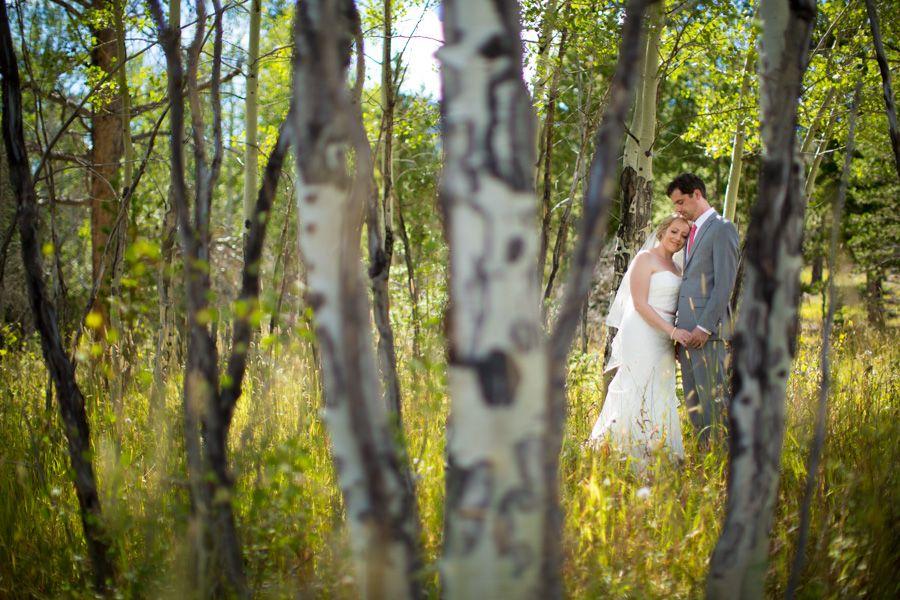 Wedding Photos Among The Aspen Trees Here In Estes Park Fall Is When Aspens