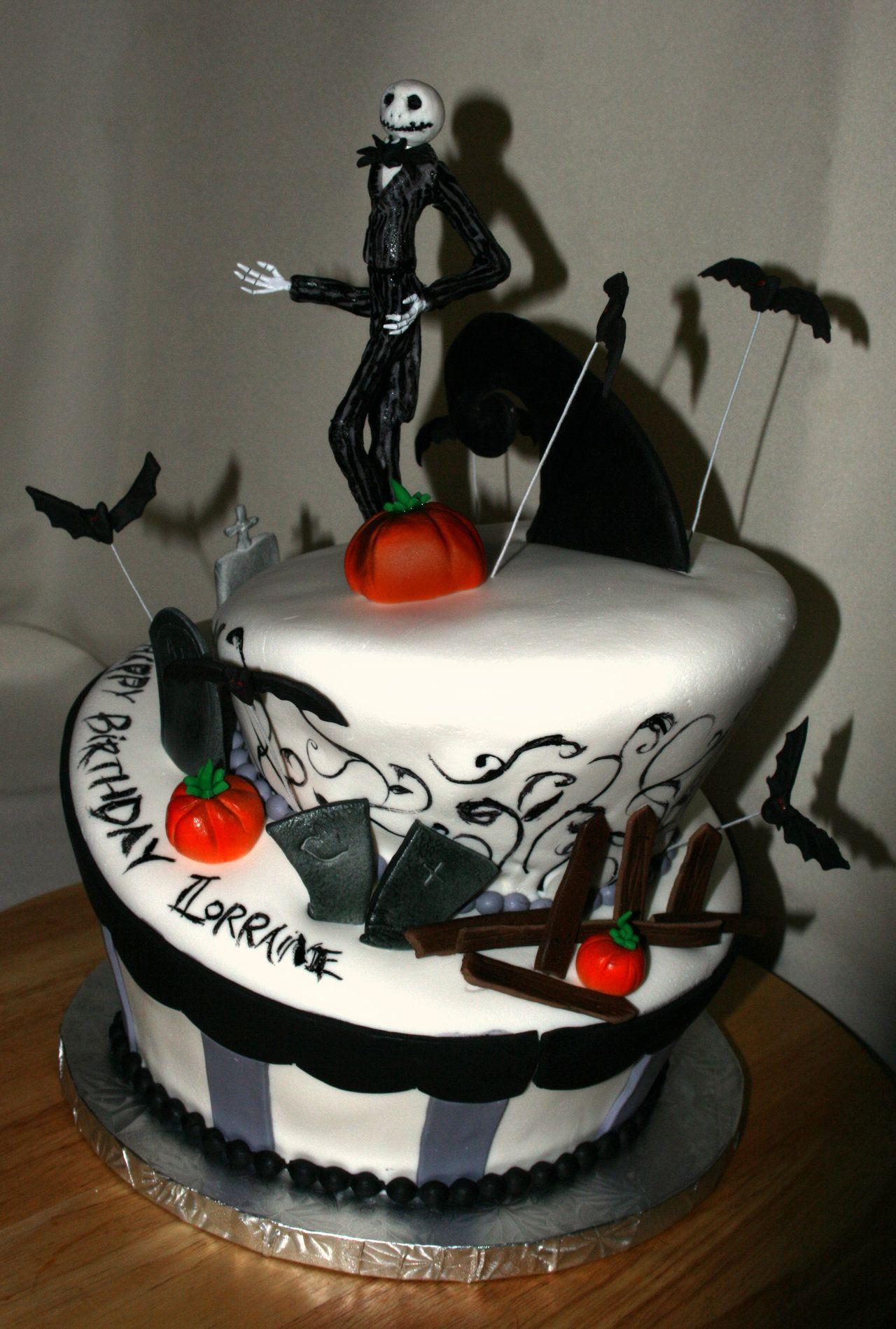 Jack Skellington Decorations Halloween Jack Skellington Pictures Jack Skellington Cake By Meaikoh On