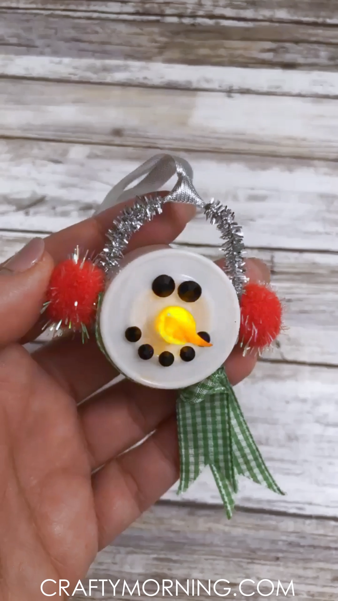Tea Light Snowmen Ornaments Video Christmas Crafts To Make Fun Christmas Crafts Christmas Crafts For Gifts