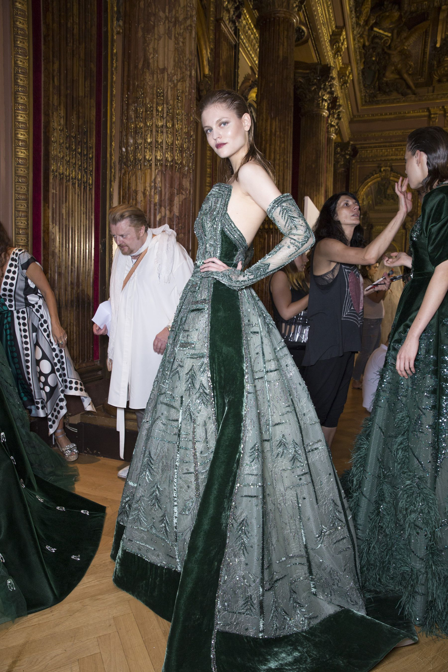 Ziad nakad couture backstage ziad nakad pinterest backstage