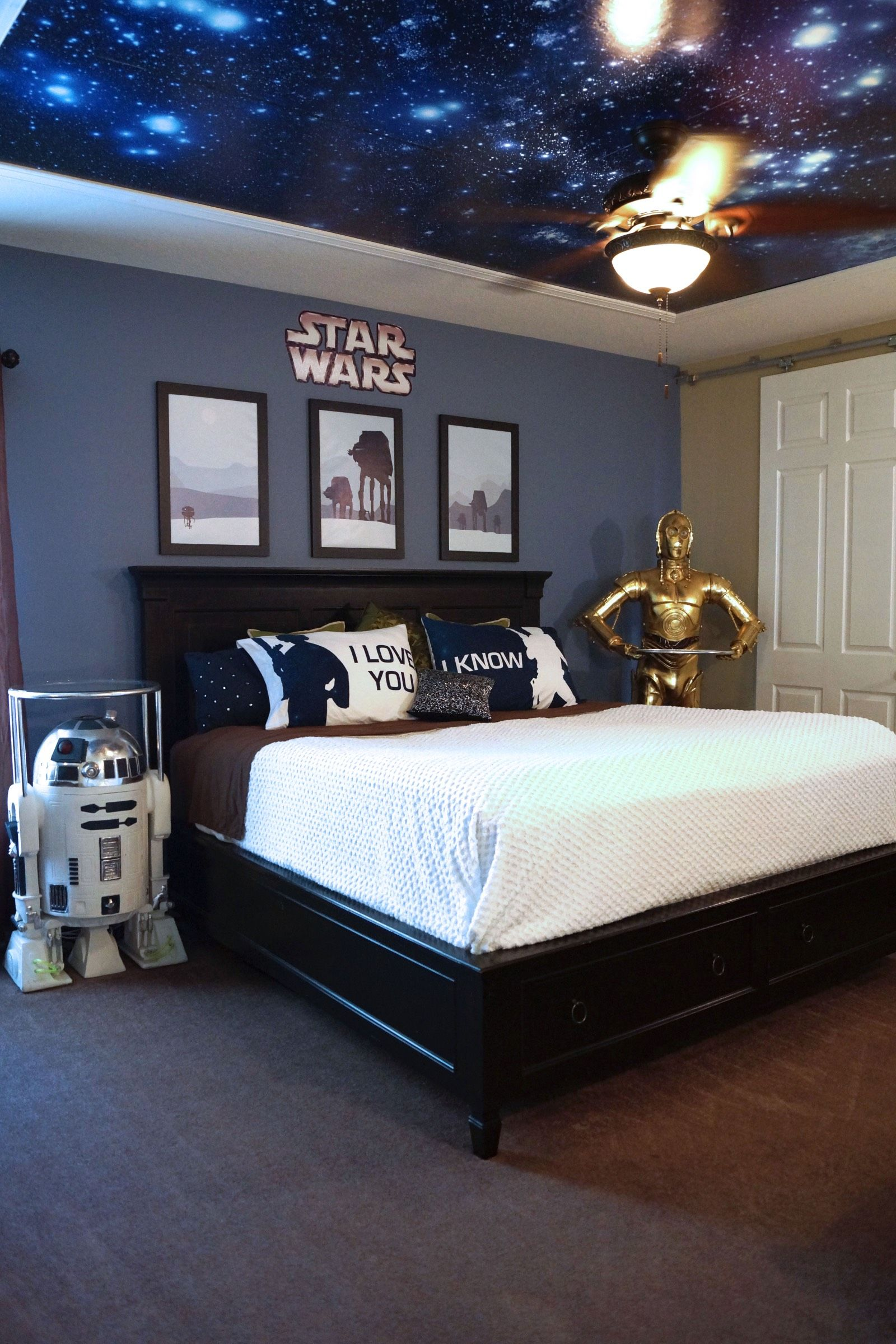 Image result for star wars bedroom | Star Wars Room in ...