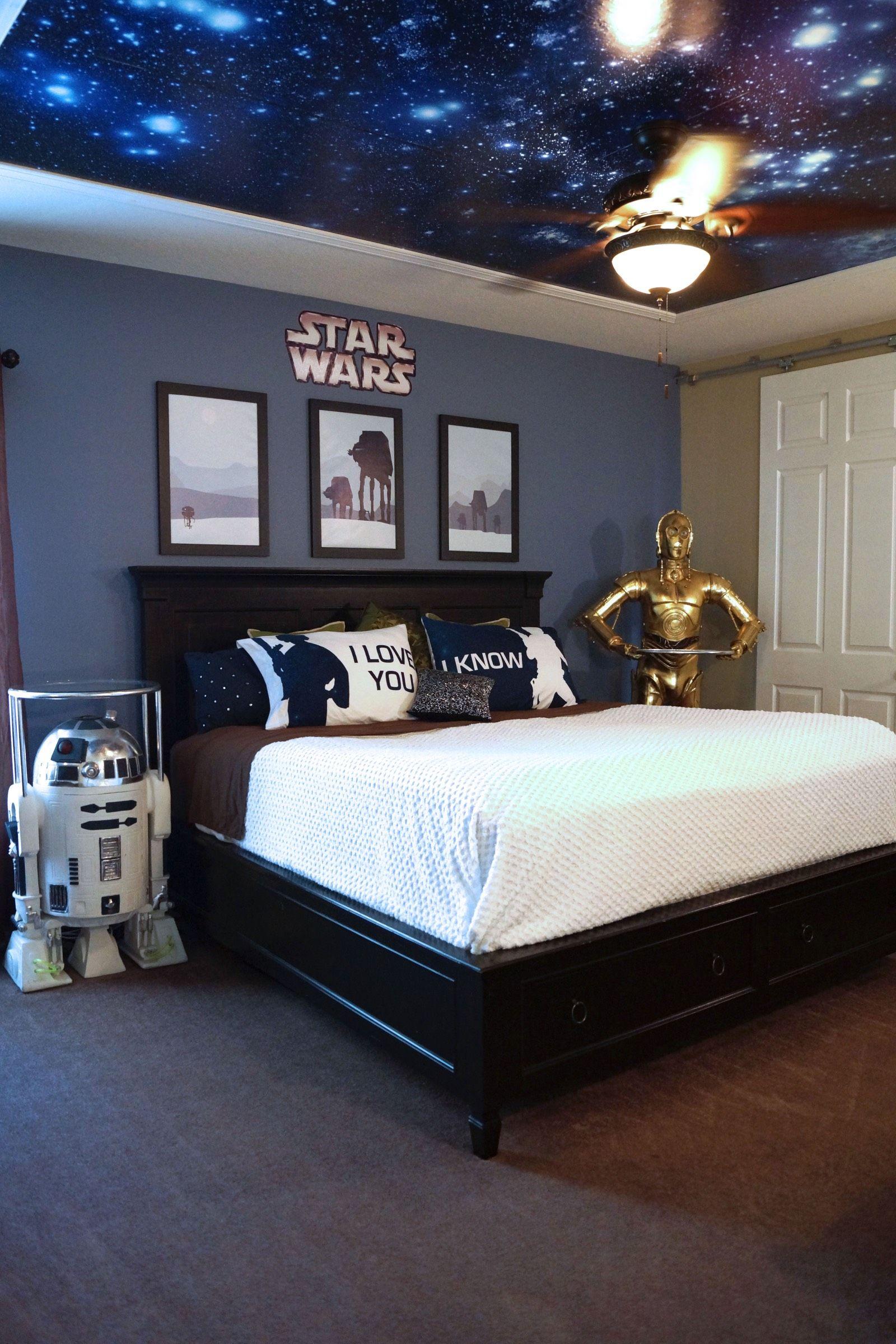 Image Result For Star Wars Bedroom Tiener Jongen Slaapkamer