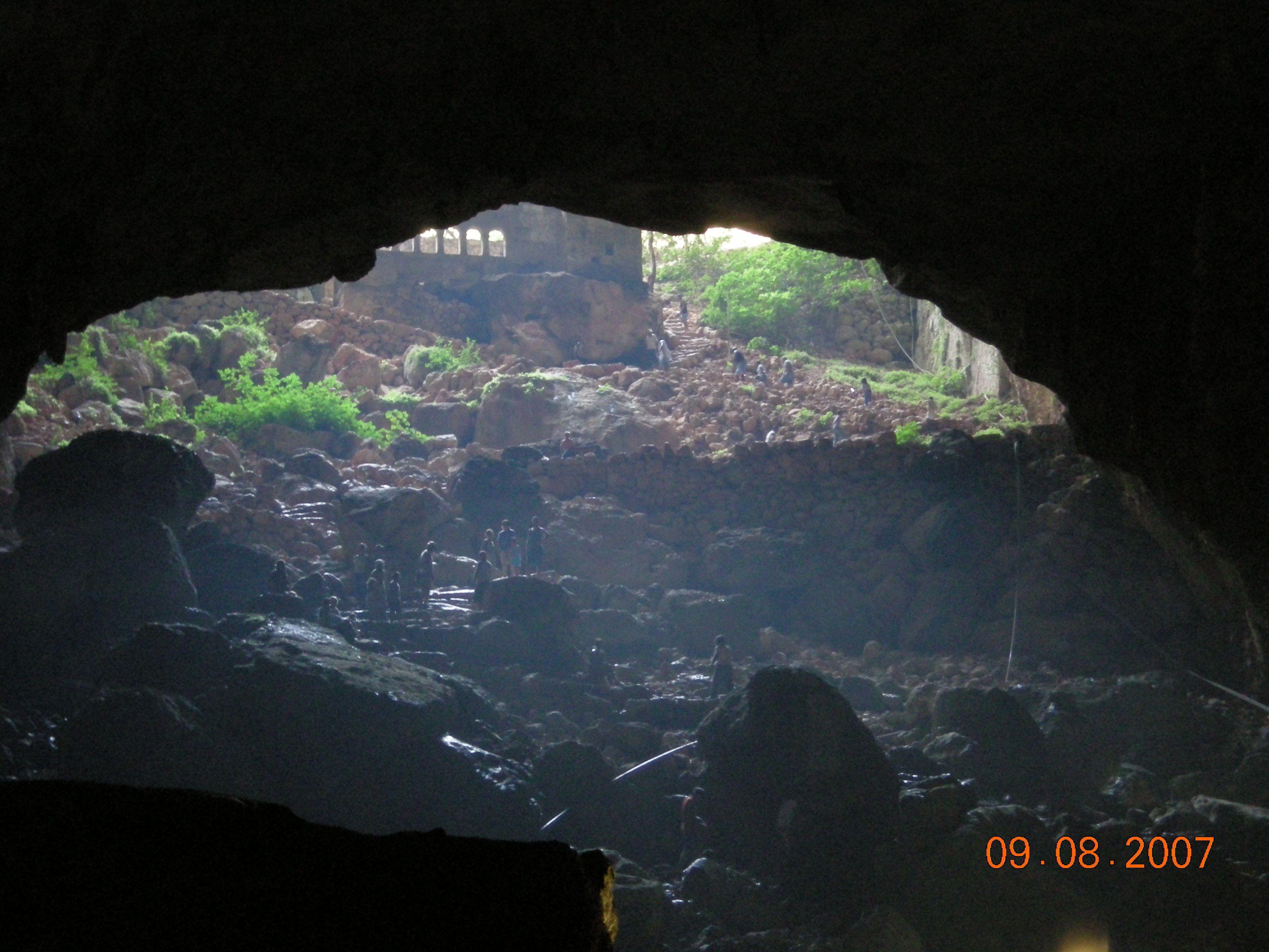 The caves of Heaven and Hell, Near Kizkalesi on Turkeys ...