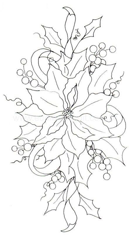 Risco para pintura em tecido natal pintura em tecido - Dibujos navidenos para pintar en tela ...