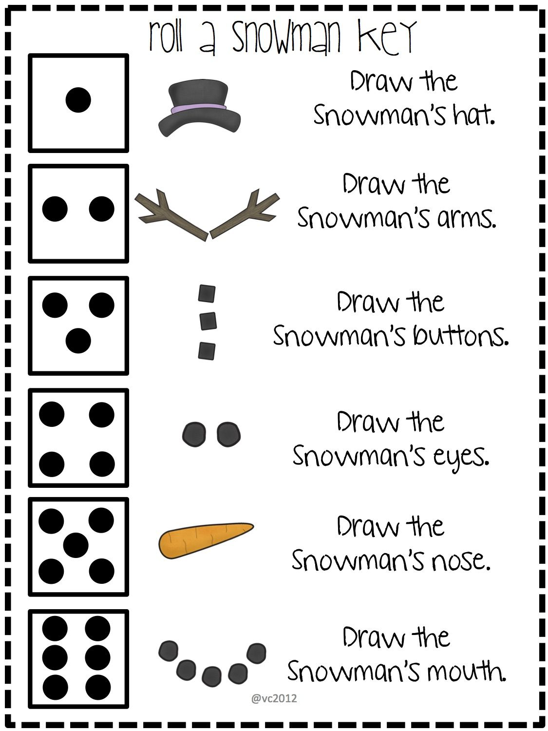 Camille S Primary Ideas Roll A Snowman Review