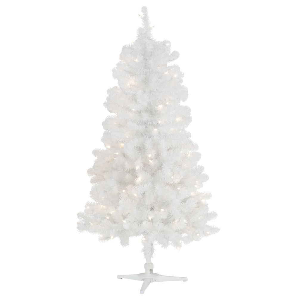 5 Ft White Christmas Tree Woestenhoeve