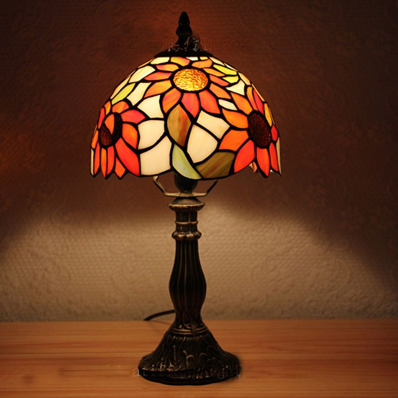 Cheap desk lighting fixtures buy quality desk light directly from china table light fixtures suppliers vintage tiffany sunflower table lights bedroom