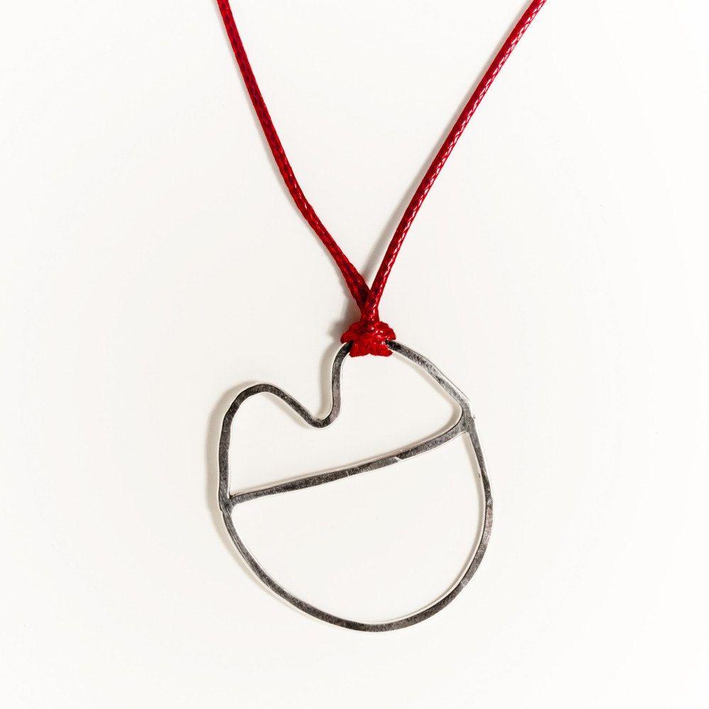 Bacio Cord Necklace - Wire