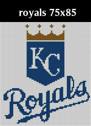 Kansas City Royals Logo Counted Cross Stitch Chart Etsy In 2021 Kansas City Royals Logo Cross Stitch Chart Cross Stitch