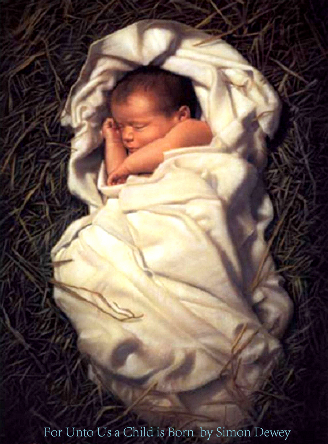 The Blessed Child By Simon Dewey Jesus Pictures Lds Art