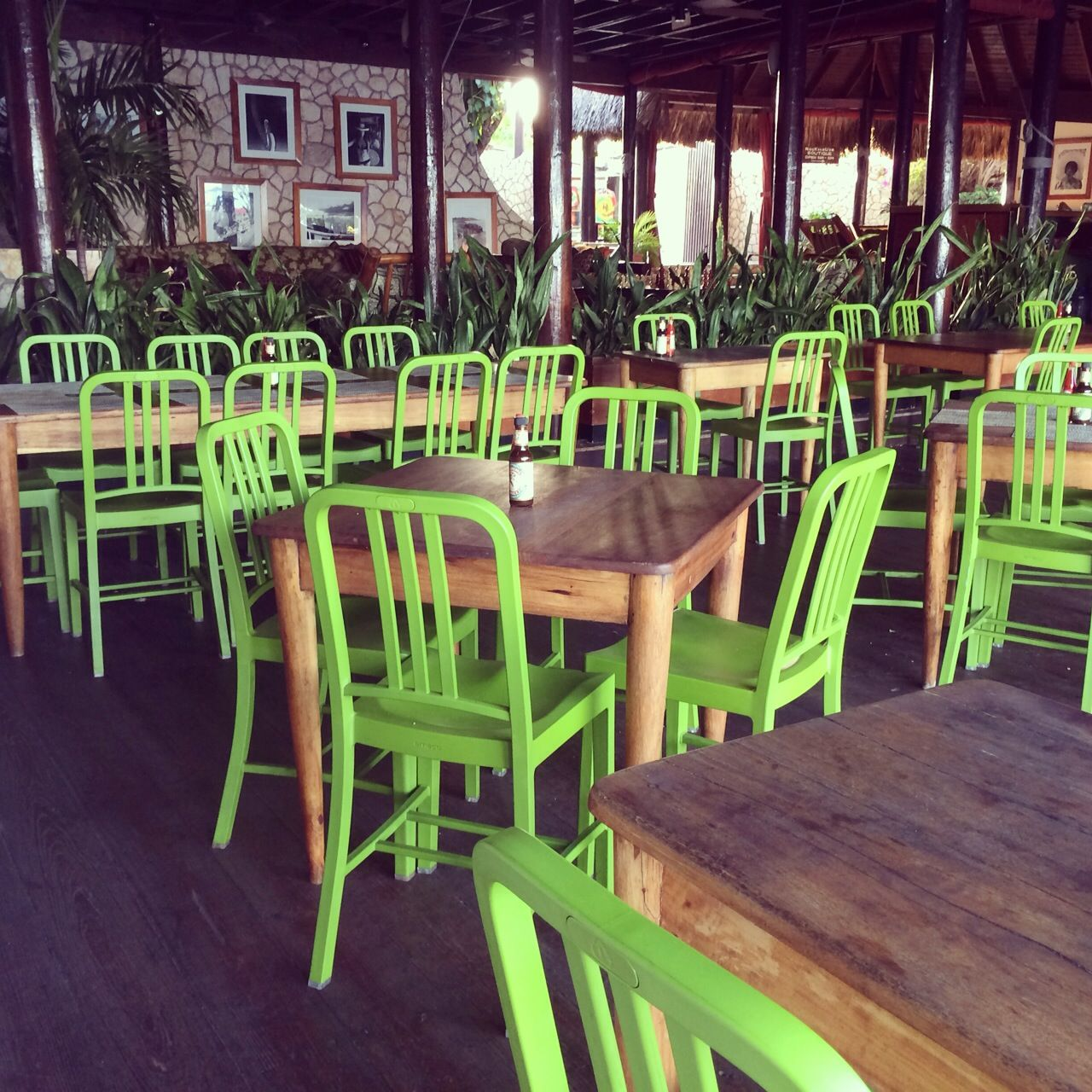 NAVY111 CHAIRS BY EMECO AT ROCKHOUSE RESORT NEGRIL