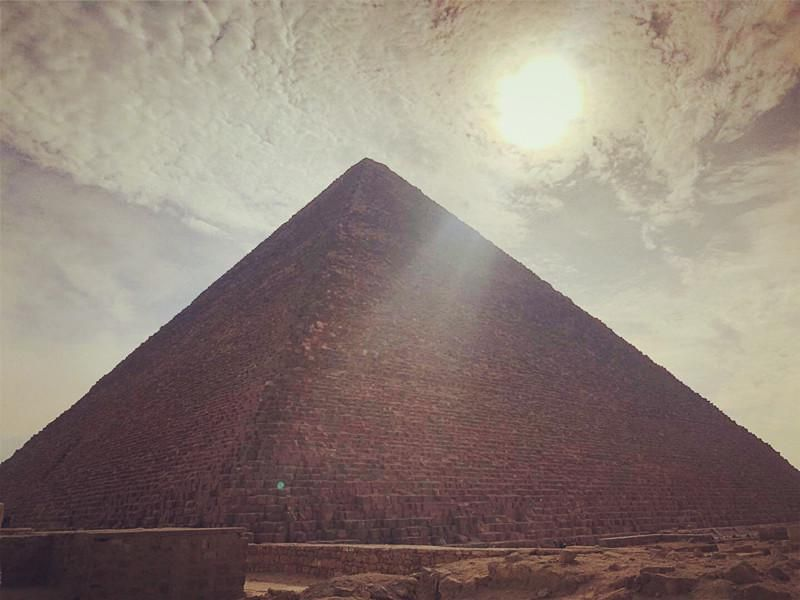 ITAP of the pyramid in 2019#PHOTO #CAPTURE #NATURE #INCREDIBLE