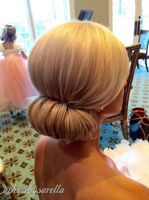Classic Bridal Updo Hairstyle : How to: a sleek and chic chignon career chignons lyon