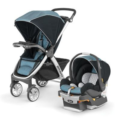 Chicco Bravo Trio Travel System In Iceland Blue Products