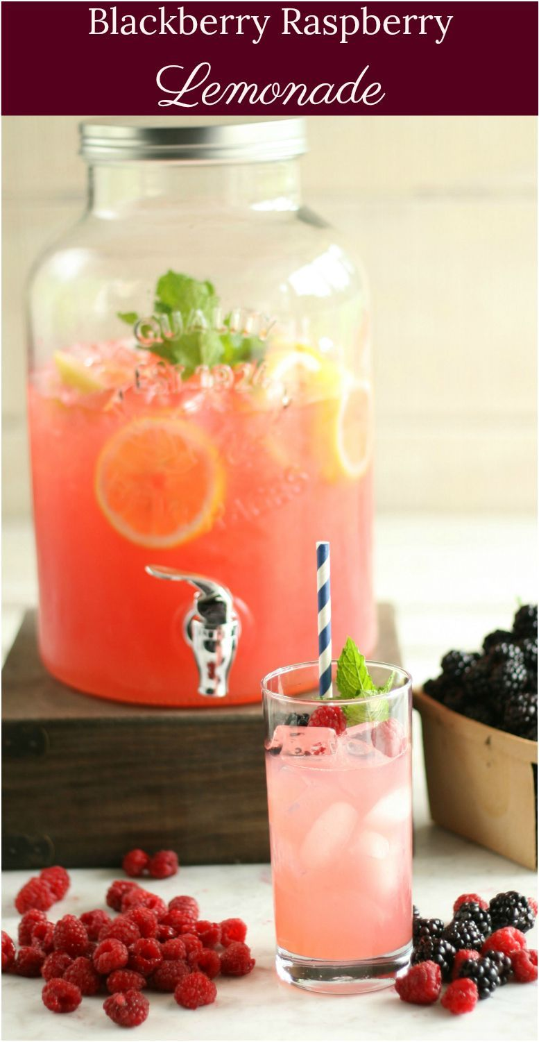 Blackberry Raspberry Lemonade #homemadelemonaderecipes Blackberry Raspberry Lemonade #recipe #homemade #lemonade #fromscratch #raspberrylemonade