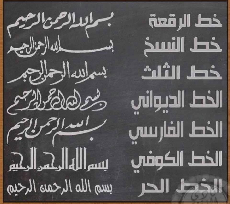 Arabic Calligraphy Arabic Calligraphy Arabic Books Chalkboard Quote Art